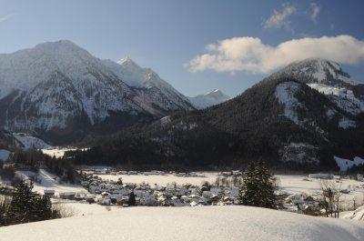 Winter im Ostrachtal