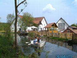 Bootsfahrt auf dem Mühlenweiher