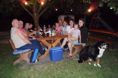 ein lauer Grill- Sommerabend