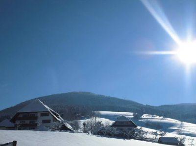 Der Vogtjosefhof im Winter