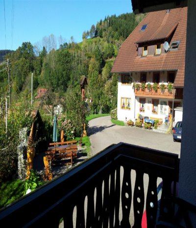 Blick vom Balkon Talblick