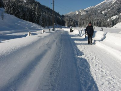 Winterwanderwege im Aubachtal