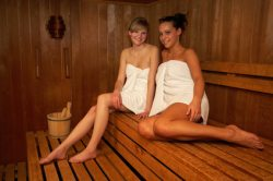 Aroma Sauna Sauna mit Aromazustzen