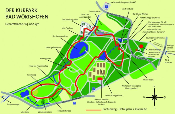 Kurparkplan