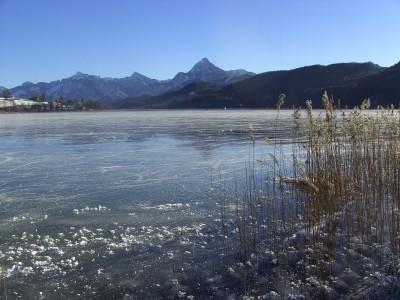 Eistag am Weissensee