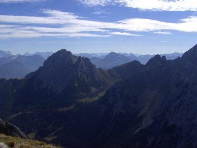 Blick von der Schlicke (2000m)
