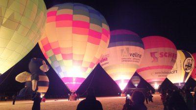 Die tanzenden Ballone