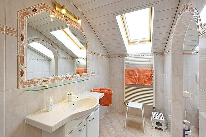 Wohnung Nr. 2 Bad / Dusche / WC