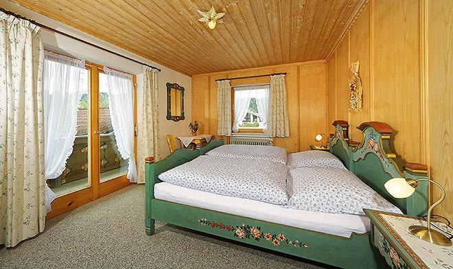 Wohnung Nr. 4 das Schlafzimmer für Genießer