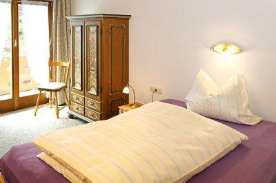 Wohnung Nr. 3 kleines Schlafzimmer mit Du / WC