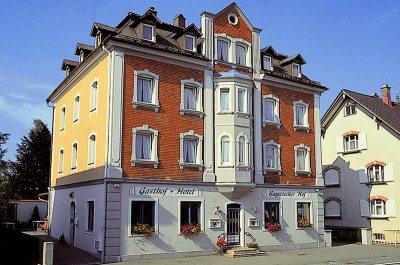 Gasthof und Hotel Bayerischer Hof in Lindenberg im Allgäu.