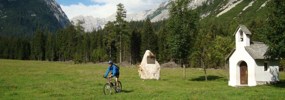 header-mountain-bike (© Alpenhof Krün : Schober Georg )