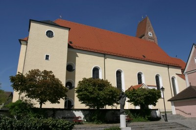 St. Justina Aussenansicht