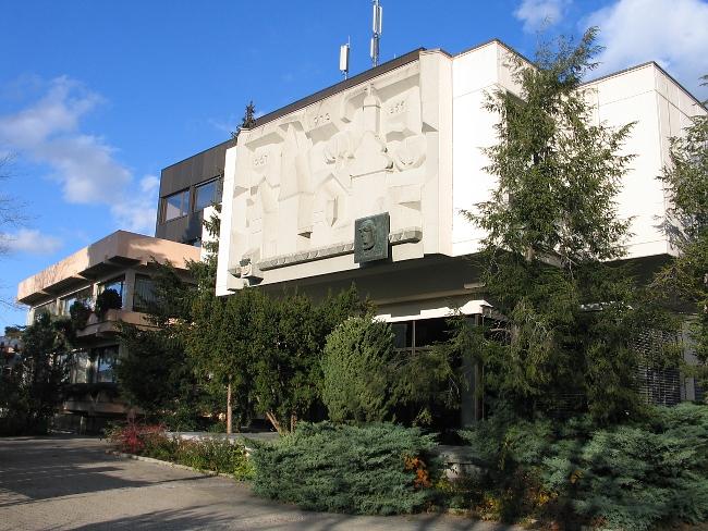 Rathaus Westseite