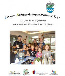Kinder-Sommerferienprogramm 2020 Kinder-Sommerferienprogramm 2020