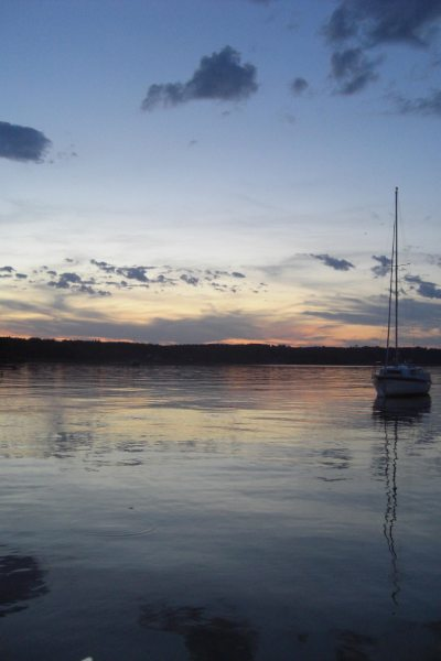 Blick auf Starnberger See