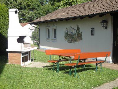 Grillplatz am Gartenhaus