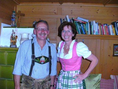 Ihre Gastgeber Rudi und Angela Ungelert