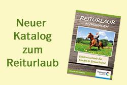 Katalog zum Reiturlaub in Thüringen (© LAG Thüringen )