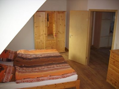 Schlafzimmer FeWo Deichblick