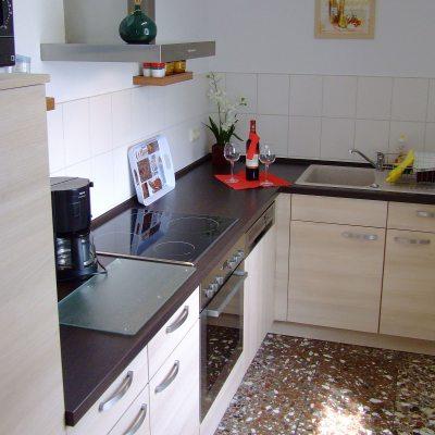 Ferienhaus Waldblick: Küche
