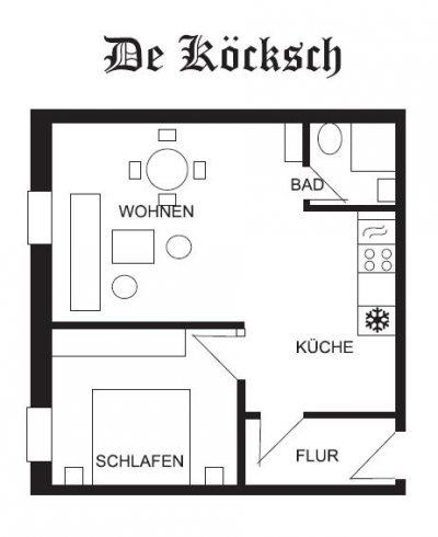 De Koecksch: Grundriss