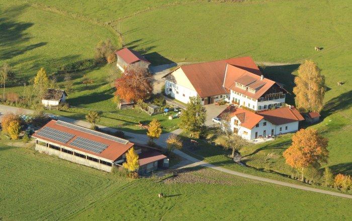 Luftaufnahme vom Mühlenhof