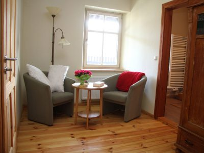 Gästezimmer 1 - Sitzecke