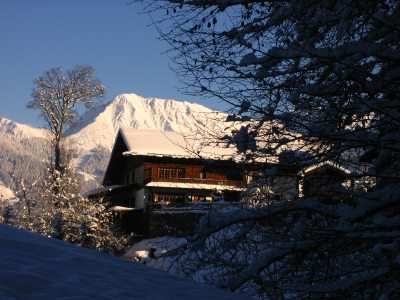 Winter-Haus-Eibele