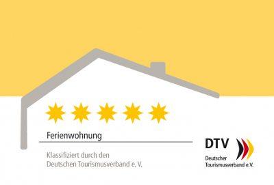 dtv-kl_schild_ferienwohnung_5sterne