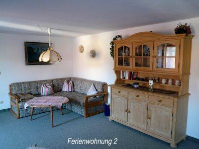 Sitzecke - Ferienwohnung 2