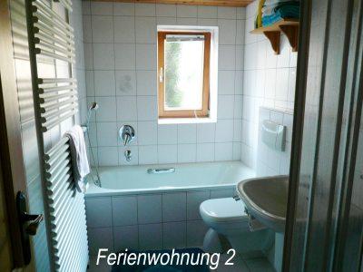 Badezimmer - Ferienwohnung 2