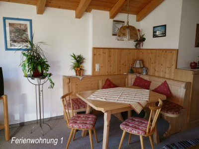 Essecke - Ferienwohnung 1