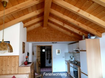Wohnküche - Ferienwohnung 1