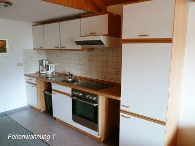 Küchenzeile - Ferienwohnung 1