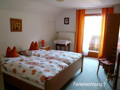 2. Schlafzimmer - Ferienwohnung 1