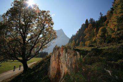 Herbst im Hintersteiner Tal