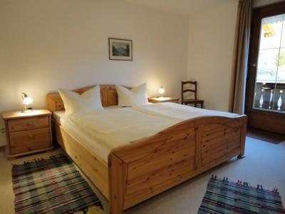 Fewo Rotspitze - Schlafzimmer