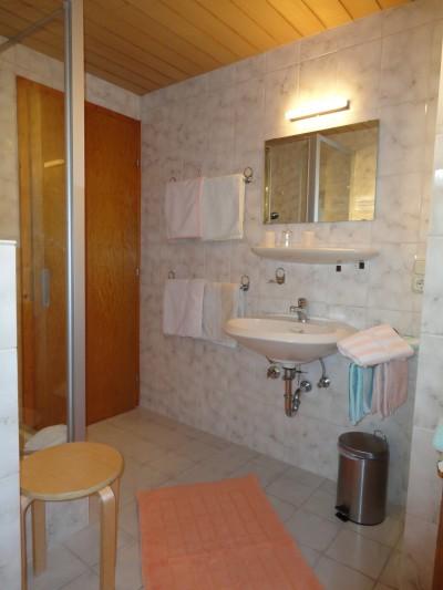 Fewo Rotspitze - Badezimmer