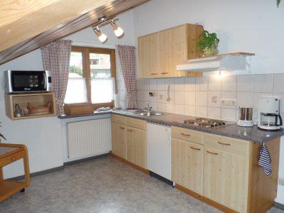 Küche Ferienwohnung 4