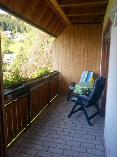 Balkon Fernbick