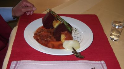 Schrothkur-Abendessen